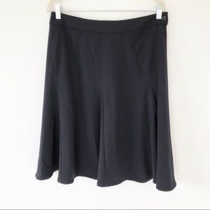 CAbi Black A Line Flare Career Skirt Style 118